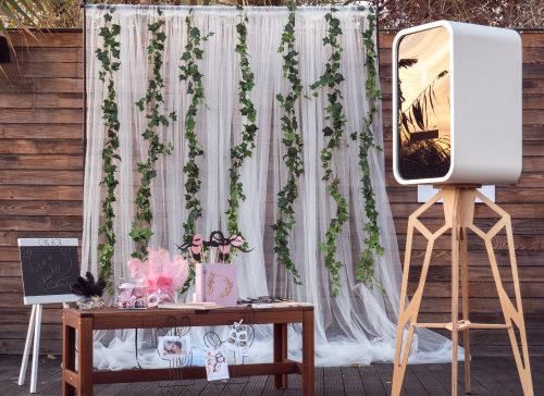 Photocorner pentru nunta
