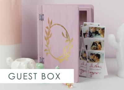 Cutie de lemn personalizata, pentru poze